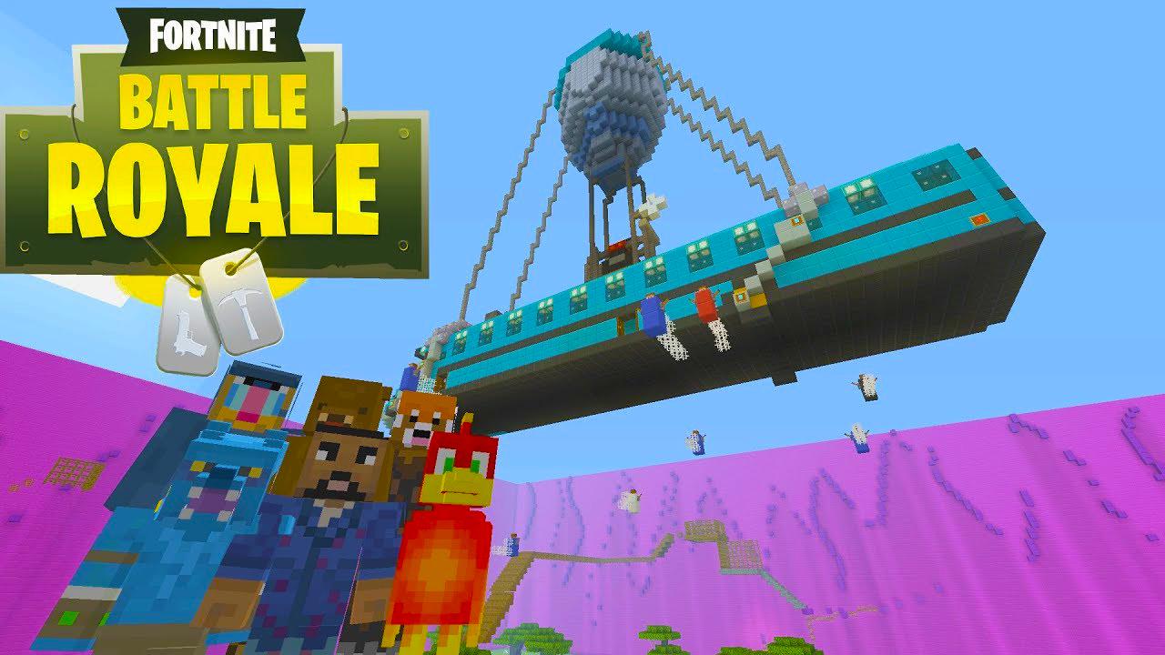 BattleRoyale llega a Minecraft