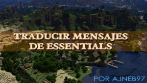 Traducir Mensajes del Plugin Essentials