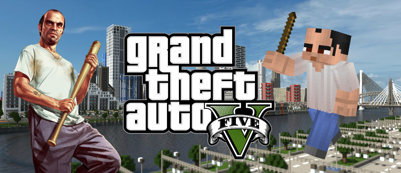 ¿GTA ROLEPLAY EN MINECRAFT?