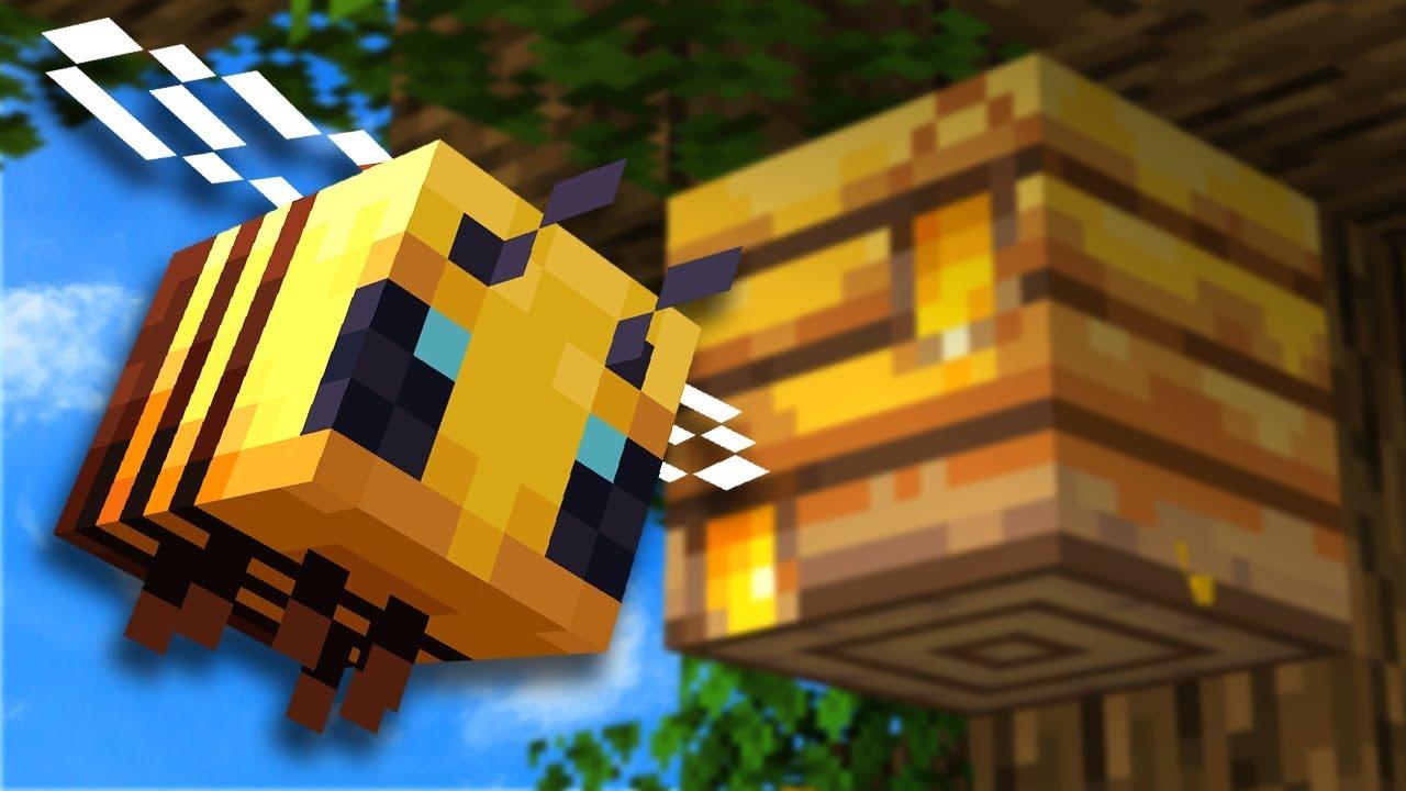 Abejas en Minecraft 🐝 ¡Todos los SECRETOS! Panales