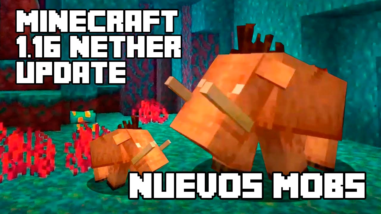 Nether Update 1.16 – Mobs