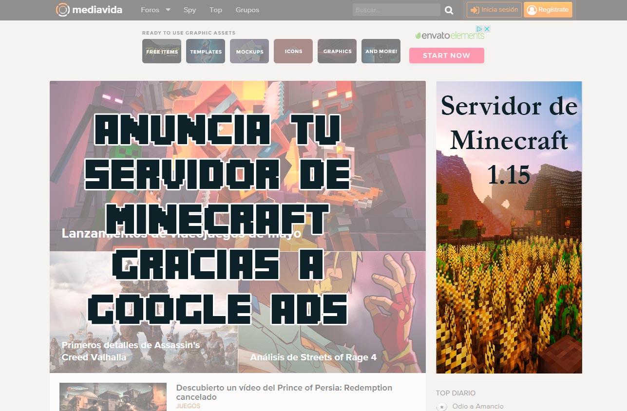 Cómo promocionar tu servidor de Minecraft en GOOGLE ADS