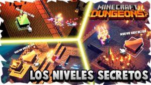 Minecraft Dungeons: dónde encontrar los niveles secretos.