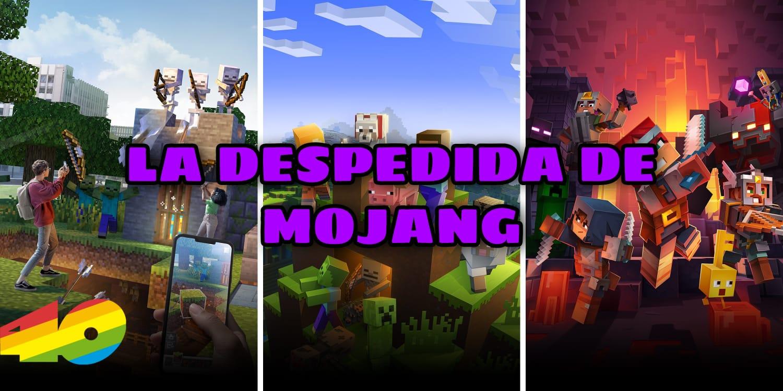 Minecraft: La despedida de Mojang, la llegada de Microsoft. Migración de cuenta