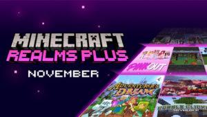 Realm Plus: Servicio de suscripción mensual de Minecraft