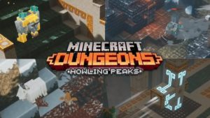 Minecraft Dungeons: el multijugador multiplataforma ha llegado.