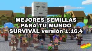 Mejores semillas de Minecraft para tu mundo survival   🏕