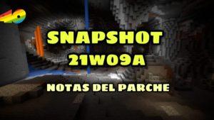 Lo nuevo de la Minecraft 1.17 snapshot 21w09a – notas del parche y fecha de lanzamiento 🆕