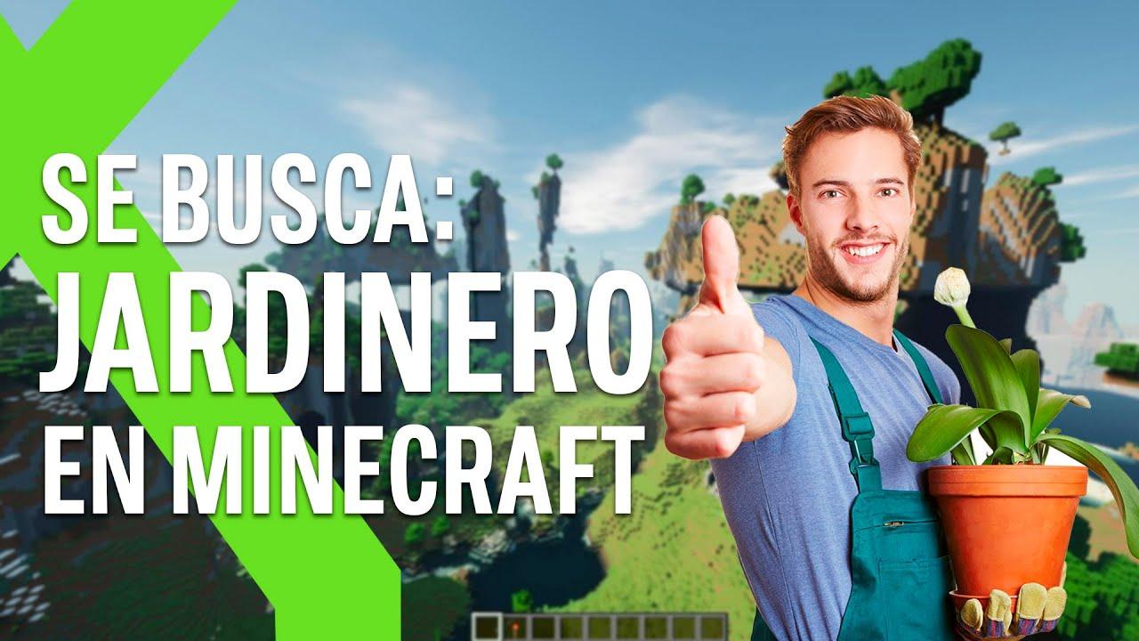 ¿Te gusta la jardinería en Minecraft, y quieres ganar dinero de ello? : una tentadora oferta