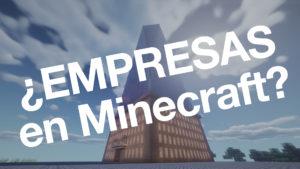 El capitalismo llega a Minecraft. Plugin de empresas e inversión