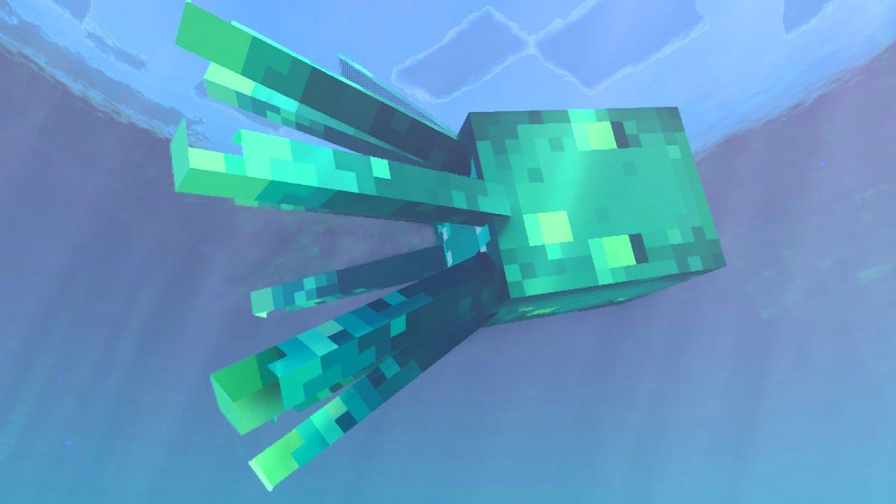 Todo lo que debes saber sobre los calamares brillantes en Minecraft